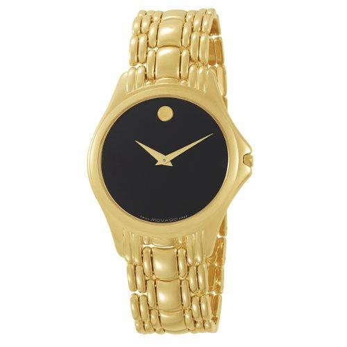Movado Men's 605321 Aprezi 14K Solid Yellow Gold Watch