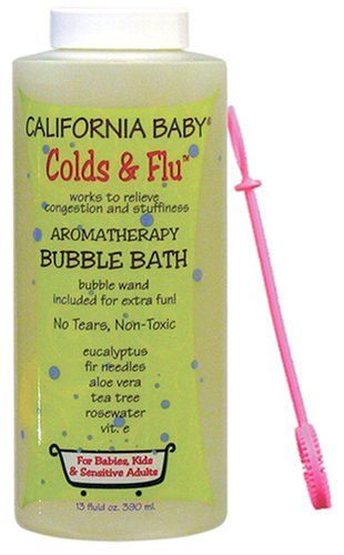 California Baby Bubble Bath - Colds & Flu, 13