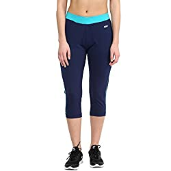 Ajile by Pantaloons Women Regular Fit Capri (205000005542722, Blue, Large)