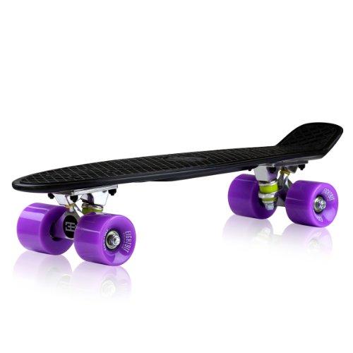 Why Choose The 22 EightBit Banana Skate Board - Retro Skateboard - Ninja / Jelly