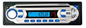 Legacy LCD31D AM/FM LCD Display Receiver Auto Loading CD Player with Detachable Face