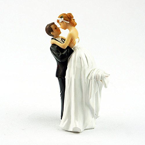 Homanda® Resin Wedding Decoration Cake Topper for Wedding Engagement Bridal shower Wedding Anniversary