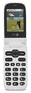 Doro Phone Easy 624 SIM-Free Mobile Telephone - Red
