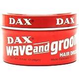 Dax Wave & Groom Hair Dress 105 ml Jar (3-Pack) with Free Nail File