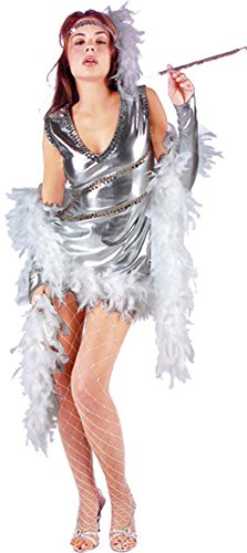 Adult Dazzling 20s Sexy Flapper Costume (Size: Large 8-10)