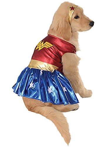 Wonder Woman Pet Costume - Medium (Wonder Woman Dog Costume)