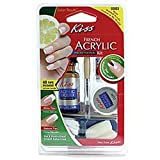 Kiss Nails French Acrylic Sculpture Kit (2 Packs)