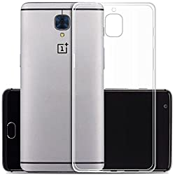 WOW Imagine(TM) SWT-OP3-TRANS Soft Jel Ultra Thin 0.4mm Clear Jel TPU Back Case Cover For One Plus 1+3 OnePlus 3 (Transparent) [ New improved manufacturing process - New Batch iwth 100% Guaranteed Perfect fit and all the cotouts present - Comes With Complete Warranty ]