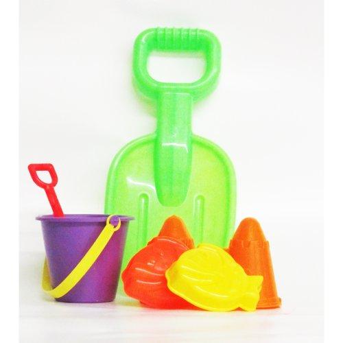 5 Peice Amloid Beach Sand Toys