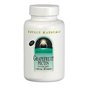Source Naturals Grapefruit Pectin, Soluble Fiber, Powder, 16 oz (453.6 g)