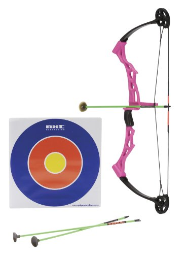Nxt Generation Girls Compound Bow with 3 Arrows and Target