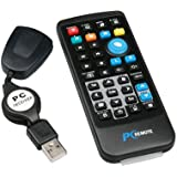 niceEshop(TM) Infrared USB PC Media Center HTPC Remote Control / Wireless Mouse For PC -Black