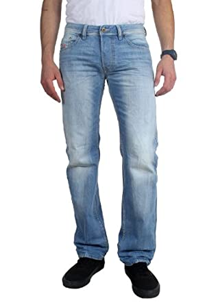 Diesel Men's Larkee Straight 0827F Denim 28 30