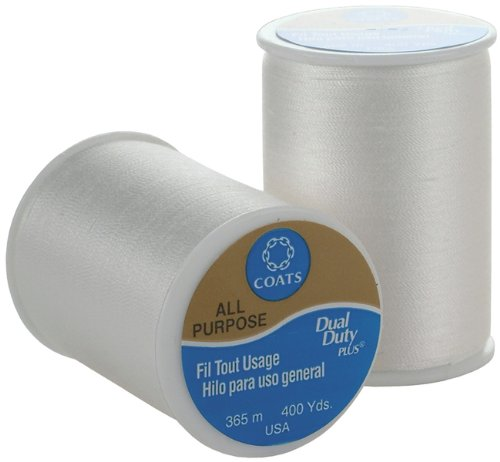 Check Out This Coats & Clark All Purpose Thread 400 Yards White (ONE spool of yarn)
