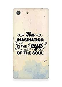 Amez The Imagination is the Eye of the Soul Back Cover For Sony Xperia M5