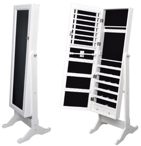 armoire bijoux avec miroir 148 cm your 1 source for. Black Bedroom Furniture Sets. Home Design Ideas