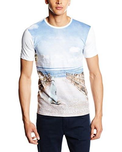Trussardi Jeans T-Shirt weiß