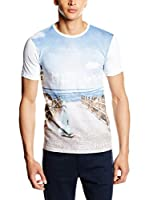 Trussardi Jeans Camiseta Manga Corta (Blanco)