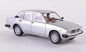Alfa Romeo Alfetta 2000, silver, 1980, Model Car, Ready-made, Neo 1:43