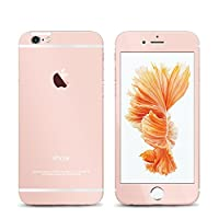 iPhone 6s / 6 Screen Protector Mirror Finish Front and Back Cambond® 3D Touch Compatible Ballistics Tempered Glass Screen Protector for iPhone 6s / iPhone 6 4.7 Inch (Rose Gold) by Cambond