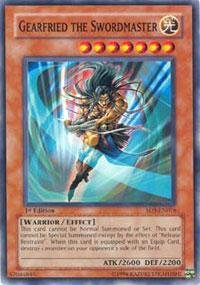 Yu-Gi-Oh! - Gearfried the Swordmaster (SD5-EN016) - Structure Deck 5: Warrior's Triumph - 1st Edition - Common - 1