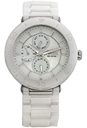 Fossil Fossil Ladies Multi-Function White Ceramic Watch