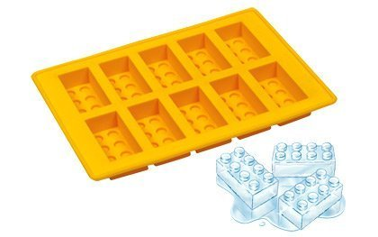 Lego Style Ice Bricks Tray