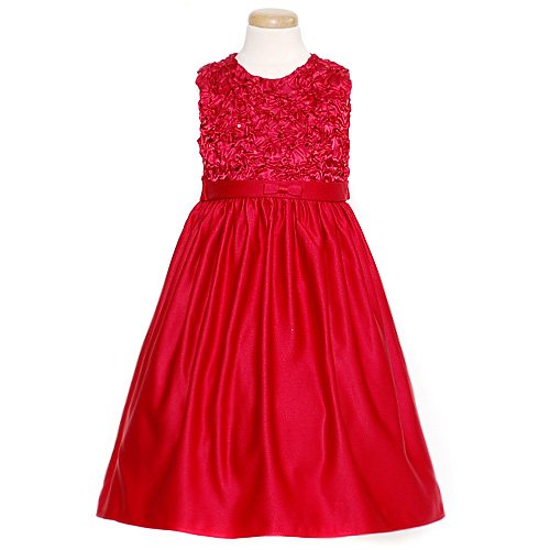 cb2f2a714b521 Little Miss Toddler Girls Size 2T Red Sequin Bodice Christmas Dress