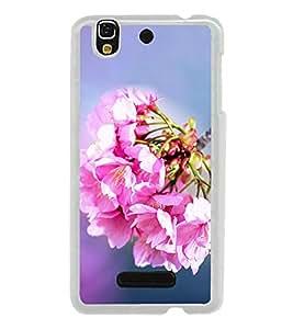 Bunch of Beautiful Pink Flowers 2D Hard Polycarbonate Designer Back Case Cover for YU Yureka :: YU Yureka AO5510
