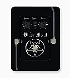 PosterGuy Black Metal Guitar Effects Pedals Digital Art Mouse Pad
