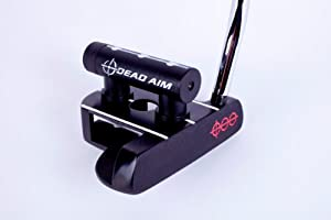 Dead Aim Mallet Golf Putter with Laser by Dead Aim