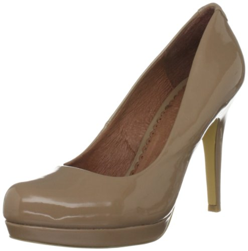 Moda in Pelle Women's Calleen Nude Platforms Heels CAL04 5 UK