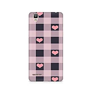 TAZindia Printed Hard Back Case Cover For Oppo F1 Plus