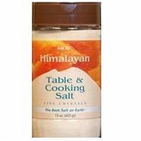 Aloha Bay Himalayan Table And Cooking Salt Fine Crystals - 15 oz