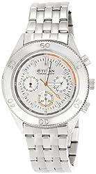 Titan Octane Analog Silver Dial Mens Watch - ND9324SM01J