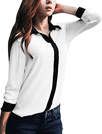 Blouse at Amazon Women's Clothing store: Blusas De Mujer De Moda