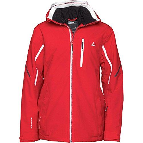 Rot/Weiß/Schwarz Dare2b Herren Output Premium Schnee Jacke Rot jetzt kaufen