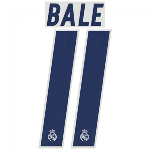 BALE #11 Real Madrid Home 2016-2017 Soccer Jersey Print Football Shirt Transfer Name Number Set Adults (Cristiano Ronaldo Print Number compare prices)