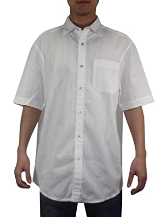Tommy Bahama Mens Button Down Short Sleeve Cotton Camp