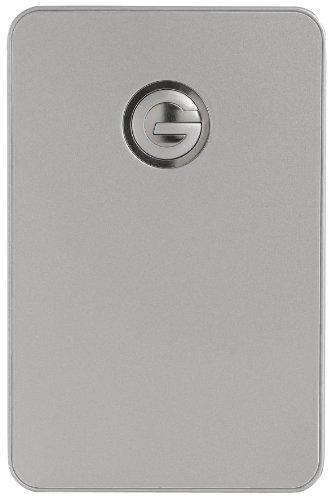 G-Technology G-Drive Mobile 1Tb 5400Rpm Portable External Hard Drive Usb 2.0, Fw400, Fw800 Interfaces (Silver) (0G02229)