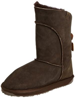 Emu Womens Alba Boots W10088 Chocolate 3 UK, 35 EU, 5 US, Regular