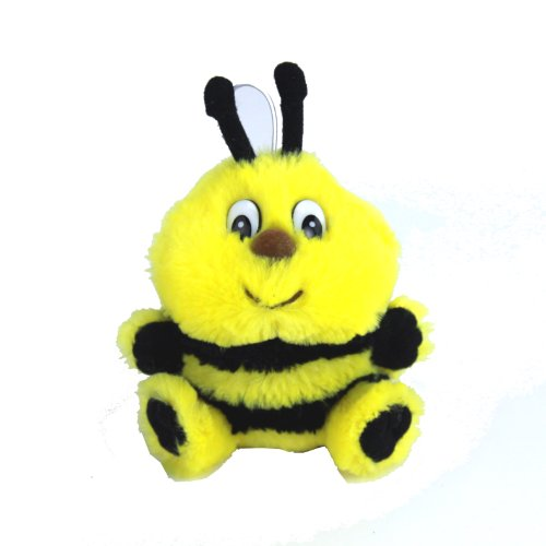 "Purr-Fection Speller Cushy Critter Bumble Bee 5"" Plush"