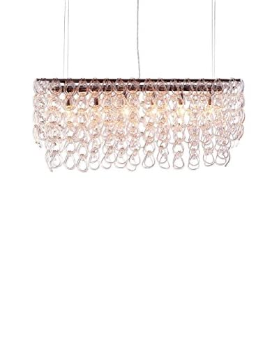 Zuo Jet Stream Ceiling Lamp, Clear