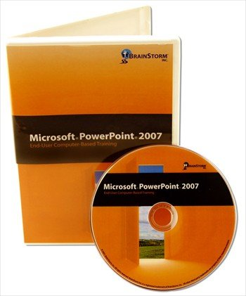 Microsoft PowerPoint 2007 Computer Based Training DVD Rom - Learn MS Power Point with 8 Hours of Lessons on CD That Are Well Organized From Basic to Advanced Features. Over 110 Powerpoint Features Explained By an Experienced MS Office Instructor: Brush up on Your Computer Software Skills with CBT Slide Show Presentation Training
