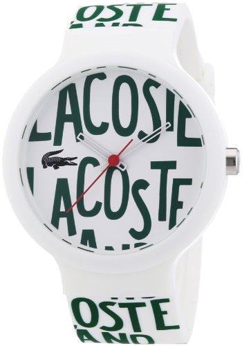 Lacoste 2020035 - Reloj de silicón unisex, esfera multicolor