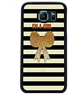 PrintDhaba Quote D-2700 Back Case Cover for SAMSUNG GALAXY S6 EDGE (Multi-Coloured)