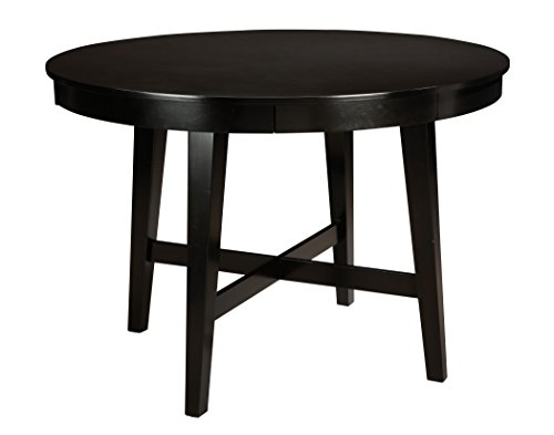 Standard Furniture Bryant 60 Inch Round Counter Height Table In Black