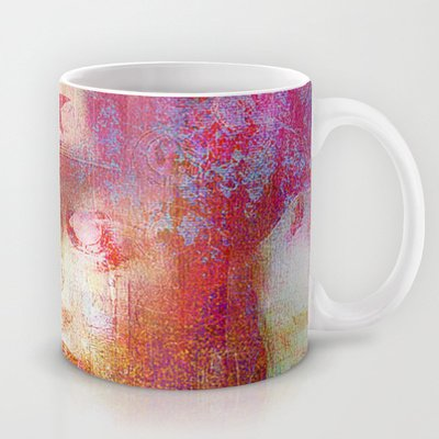 Society6 - Wonder Abstract Woman Coffee Mug By Ganech Joe