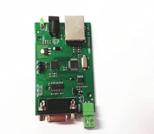 KEDSUM® RS232 RS485 to TCP/IP Ethernet Serial Converter Adapter Network Module