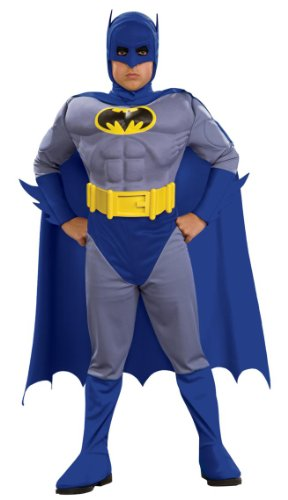 Batman Brave and Bold Kids Costume deluxe - Large